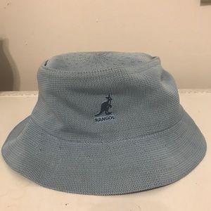 Vintage Kangol Baby Blue Bucket Hat